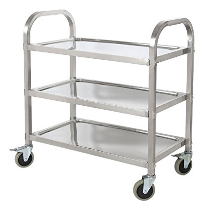 Amazon.com: BestValue GO Stainless Steel 3-Tier Kitchen Trolley