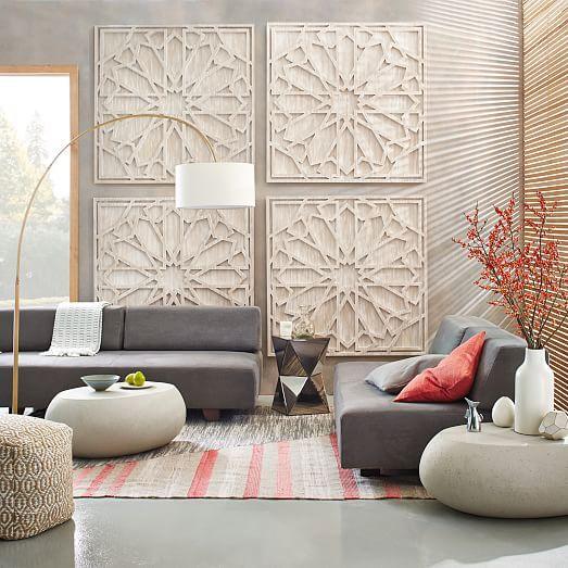 Large Wall Decor For Living Room Modern Art Wood Forward In Huge