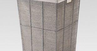 Gray Square Laundry Hamper - Threshold™