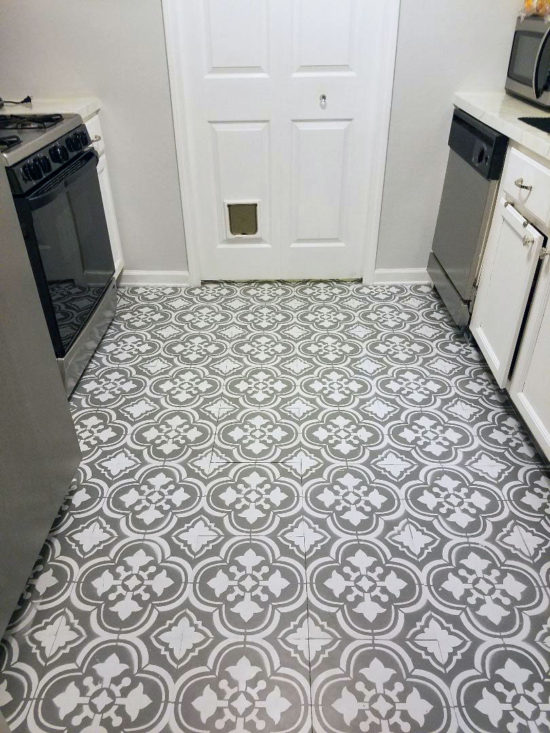 How To Paint Linoleum Flooring -