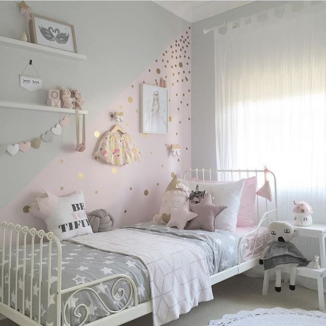 20+ More Girls Bedroom Decor Ideas | All Things Creative | Kids room