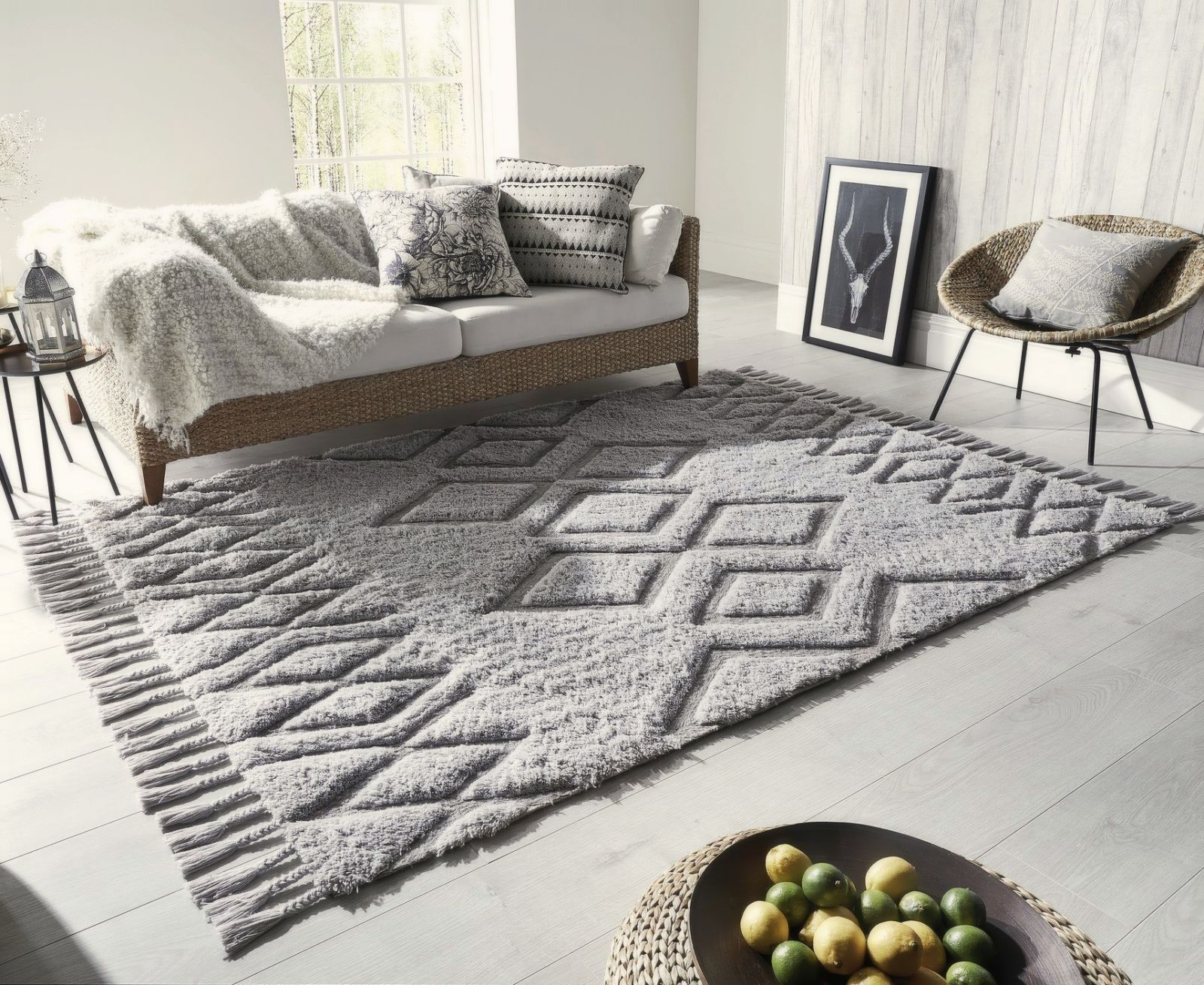 10 of the Best Grey Rugs - Large Rugs For Living Room, Bedroom and