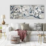 Enjoy decorating your walls   with living room wall art