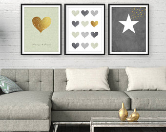Wall Art Sets For Living Room - Wall Art Paint on Priligyhowto.com