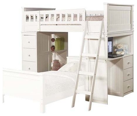 Willoughby Loft Bed - Contemporary - Loft Beds - by Acme Furniture