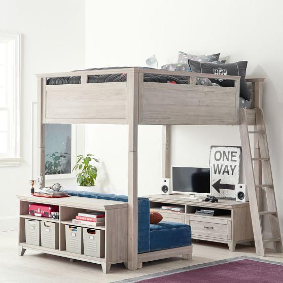 Hampton Convertible Loft Bed | PBteen