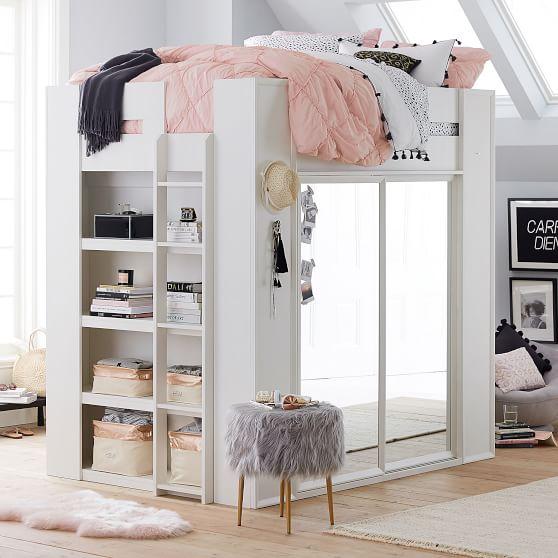 Sleep & Style Wardrobe Loft Bed | PBteen