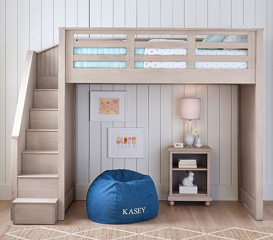 Lightness of loft beds