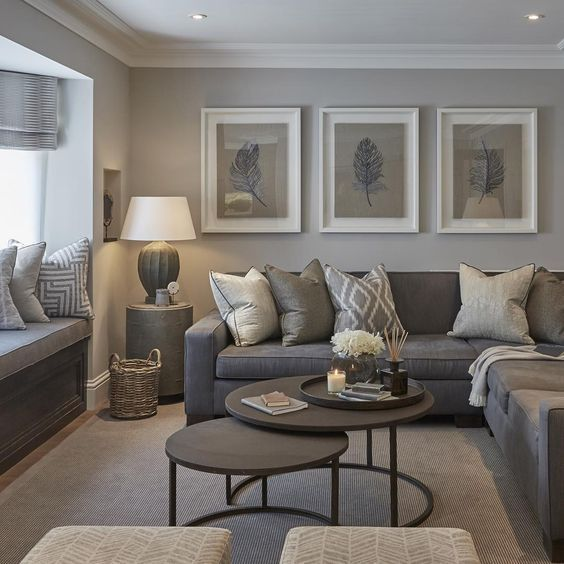 30 Elegant Living Room Colour Schemes   Paint Ideas   Living room