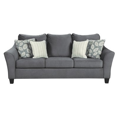 Sanzero Queen Sofa Sleeper Graphite Gray - Signature Design By