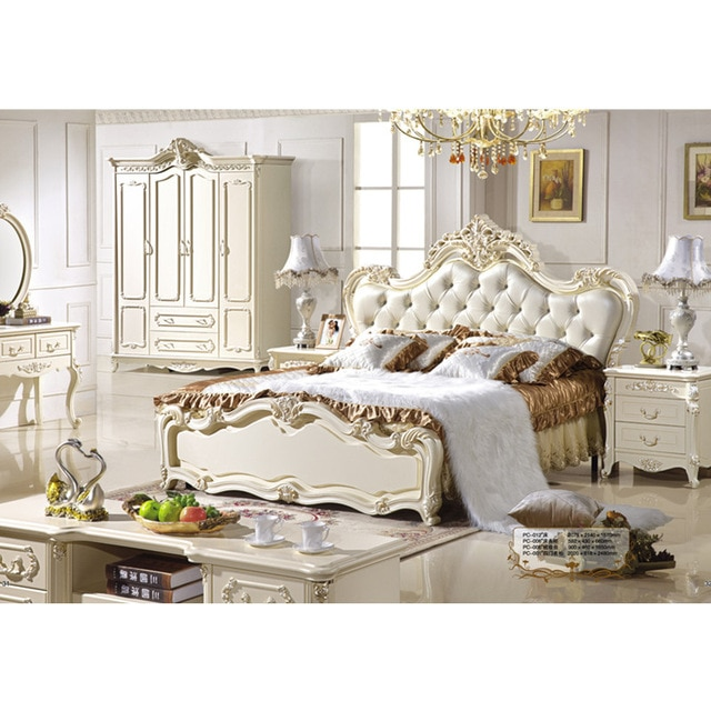 Luxury Beds French Style upholstered Bed French Bedroom Furniture