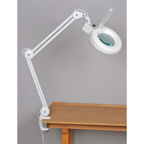 Fluorescent, Swing Arm Magnifying Lamp - - Amazon.com