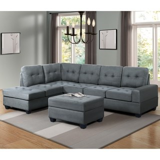 Buy Microfiber Sectional Sofas Online at Overstock   Our Best Living