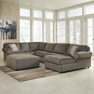 Micro Suede Sectional | Wayfair