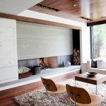 Pristine Minimalist Living   Room
