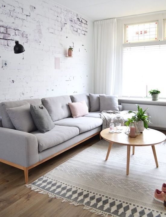 10 Minimalist Living Rooms to Make You Swoon | residential interiors