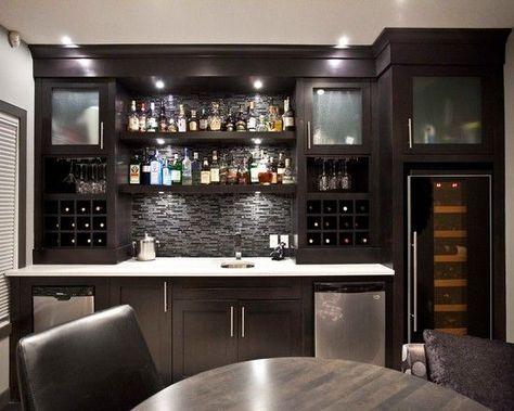 Clean Modern Basement Bar Ideas Bar Design Fascinating Contemporary