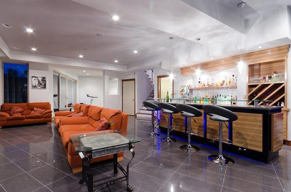 modern-basement-bar-for-man-cave-ideas | Home Design And Interior
