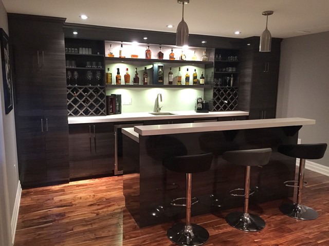 How to make Your Basement Bar   Popular in Town