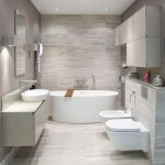 Turn Your Simple Bathroom Into   a Modern : ideas of bathroom decor