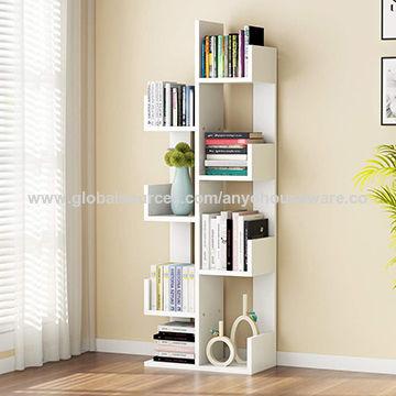 China 8-Shelf Tree Bookshelf, Modern Bookcase Book Rack Display