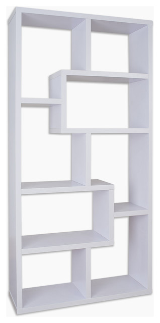 Rhea Modern Bookcase - Contemporary - Bookcases - by Furniture of