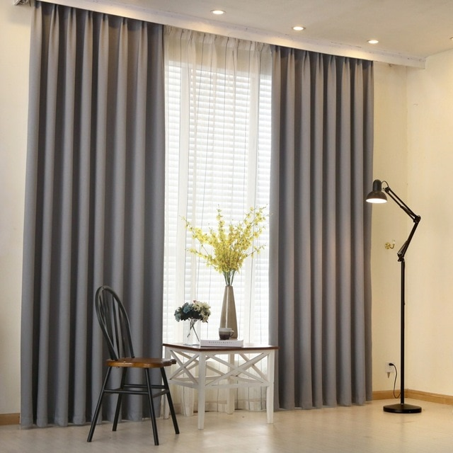 Give your house a contemporary   look: Modern curtains