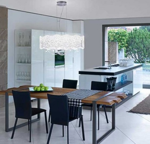 Lights For Dining Rooms With Worthy Modern Room Lighting Regarding