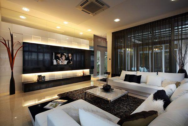 15 Modern Day Living Room TV Ideas | Family Room Ideas | Living room