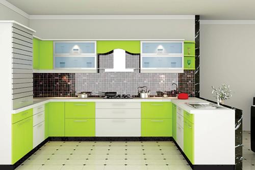 Laminate Modular Kitchen, Modern Kitchens, Modular Kitchen Furniture