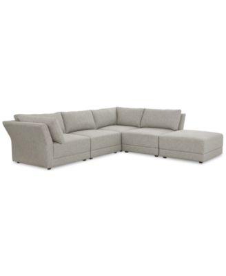 Furniture CLOSEOUT! Mylie 5-Pc. Fabric