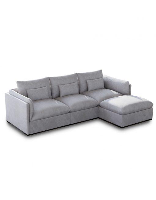 Adagio: Luxury Sectional Modular Sofa Set of 4 | Expand Furniture