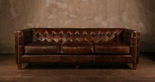 PoliVaz Leather Chesterfield Sofa | Wayfair