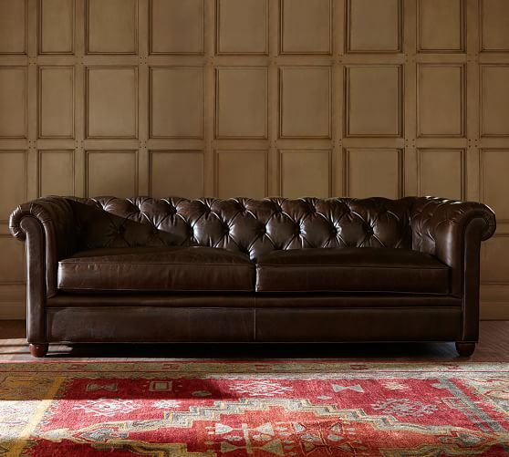 Chesterfield Leather Sofa | lofty | Leather sofa, Sofa, Chesterfield
