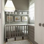 Modern nursery ideas for small   rooms