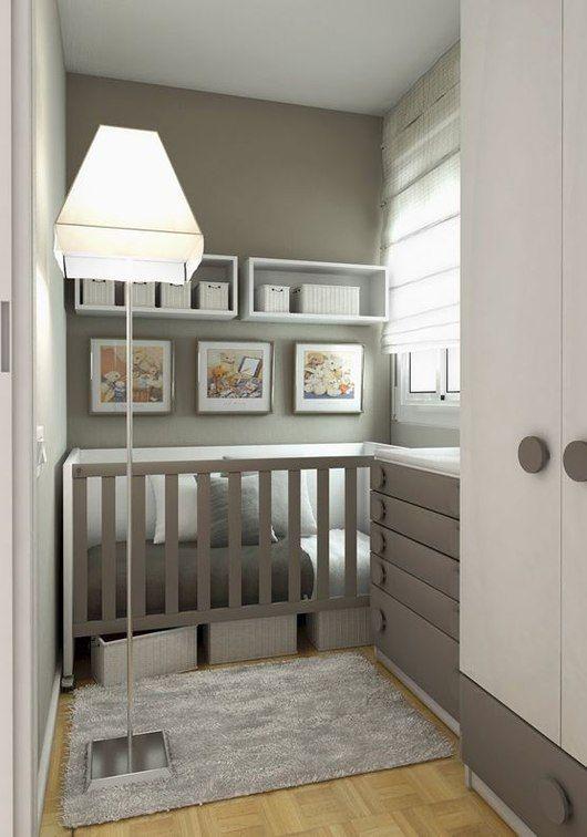 Modern nursery ideas for small   rooms
