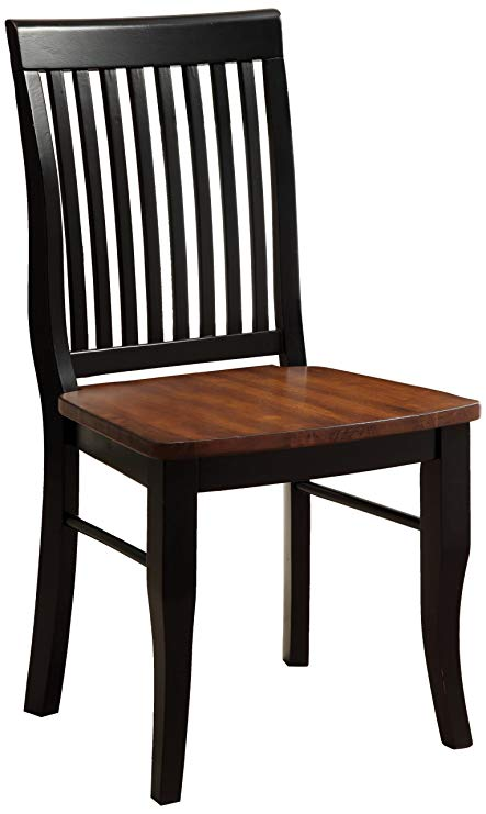 Amazon.com - Furniture of America Brook Dining Chair, Set Of 2
