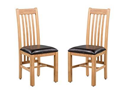 Amazon.com - Trithi Furniture - Hillsboro REAL Solid Oak Dining