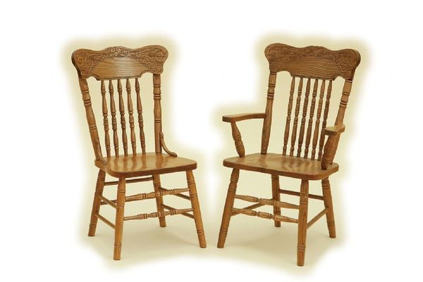 Oak Dining Chairs for Top   Classic Interior
