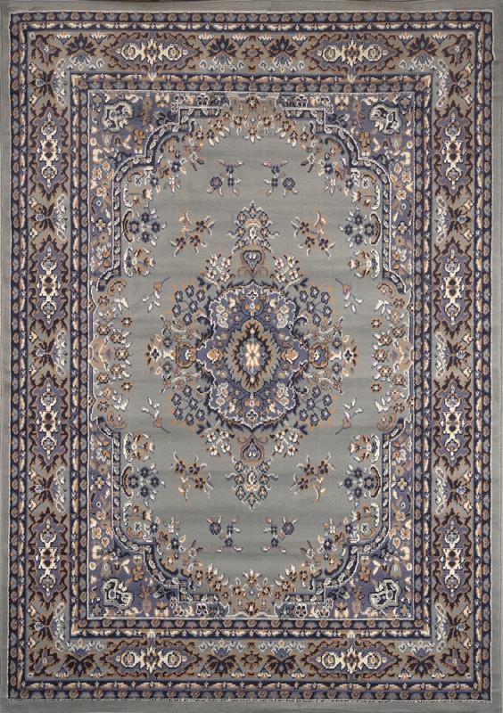 PERSIAN SILVER GRAY AREA RUG 6 X 8 ORIENTAL CARPET 69 - ACTUAL 5' 2