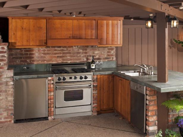 Outdoor Kitchen Cabinet Ideas: Pictures, Tips & Expert Advice | HGTV