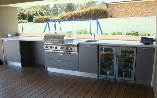 laminex outdoor kitchen cabinets - Google Search | Outdoor kitchens