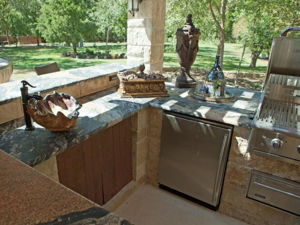 Outdoor Kitchen Cabinet Ideas: Pictures & Ideas From HGTV | HGTV