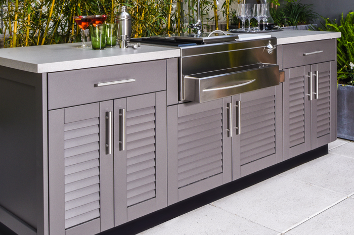 Outdoor kitchen cabinets - Decorifusta