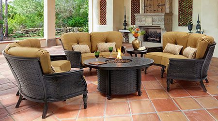 Castelle® Aluminum Outdoor Furniture - Patio Land USA