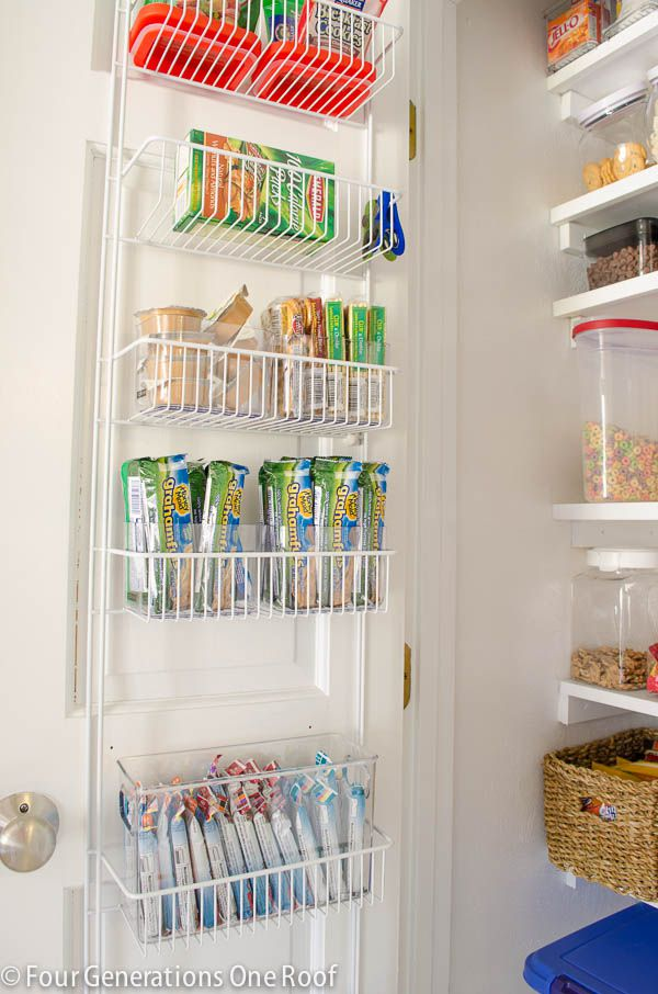 20+ Kitchen Pantry Organization Ideas - How to Organize a Pantry