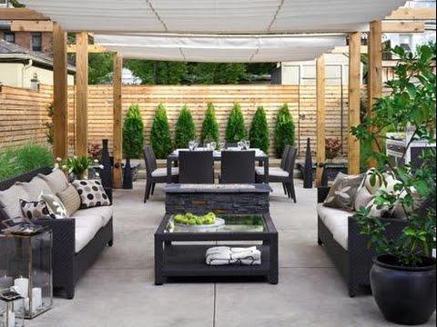 Outdoor Patio~Outdoor Patio Bar Ideas - YouTube