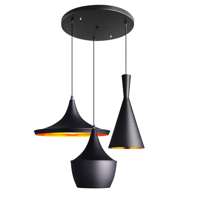 Modern Ceiling LED Pendant Lights Design By Tom Dixon Beat Musical