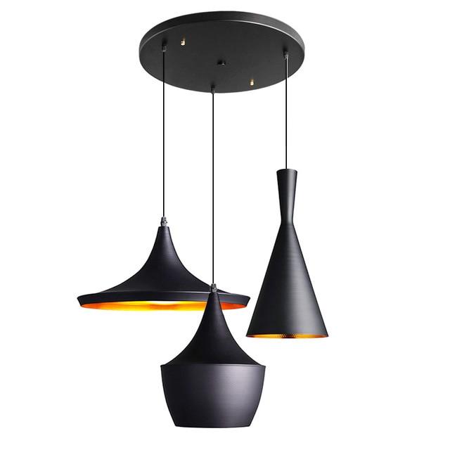 Modern Ceiling LED Pendant Lights Design By Tom Dixon Beat Musical