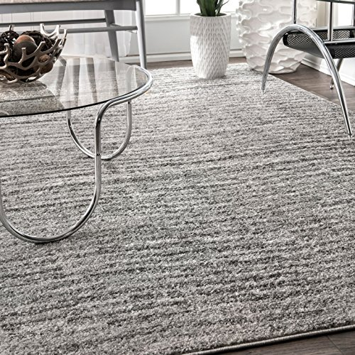 Amazon.com: nuLOOM Contemporary Solid Polypropylene Rug, 7' 6